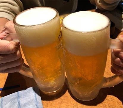りむさんとの乾杯01