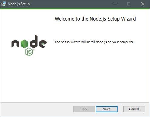 node.jsのインストーラ
