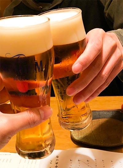 uka-chanと乾杯!